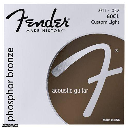 Fender 60CL Phosphor Bronze .11-.52