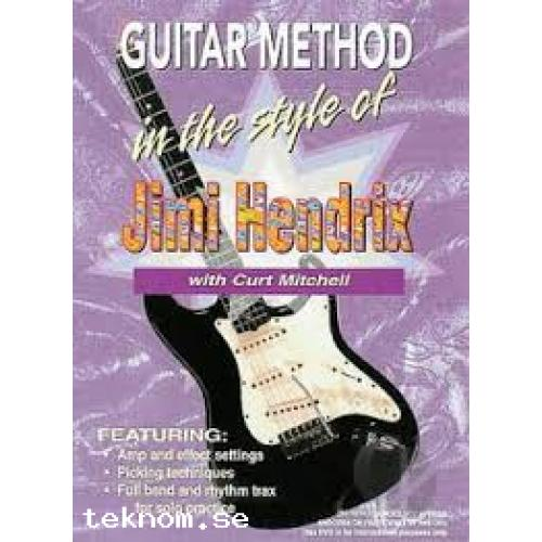 Jimi Hendrix Guitar Method