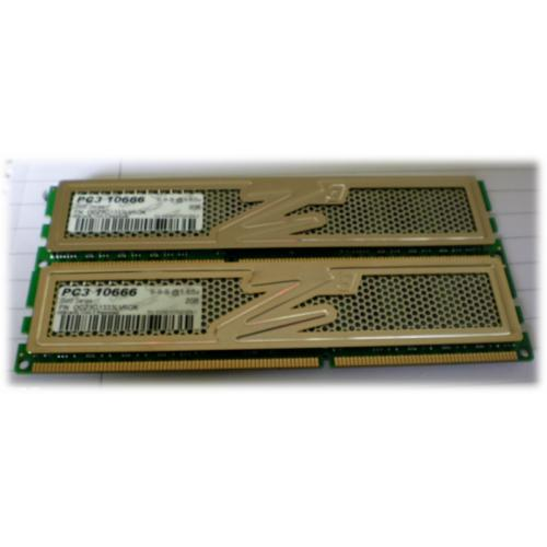 PC3 10666 2GB X 2 KIT 4GB